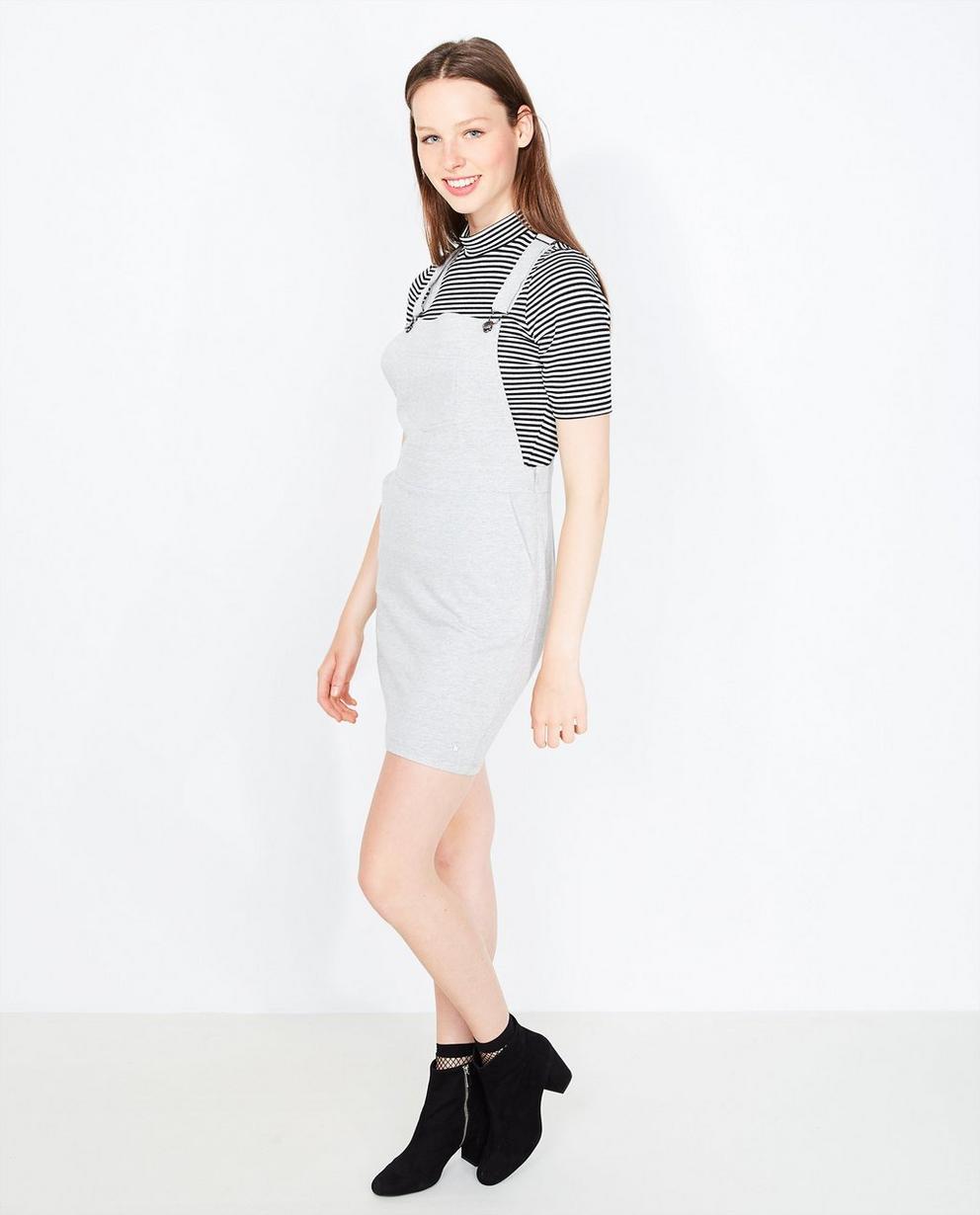 T-shirt met glitter - gestreept in zwart-wit - Grogy